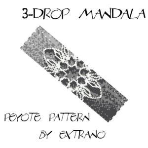 3-drop Mandala