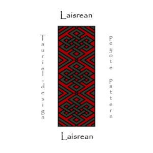 Wzór peyote - Bransoleta - Laisrean