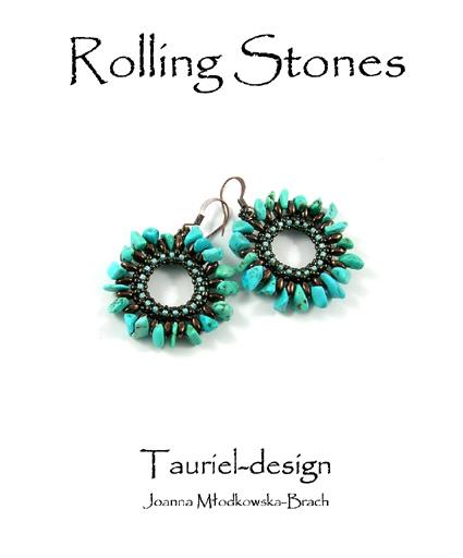 Instrukcja - Kolczyki - Rolling Stones