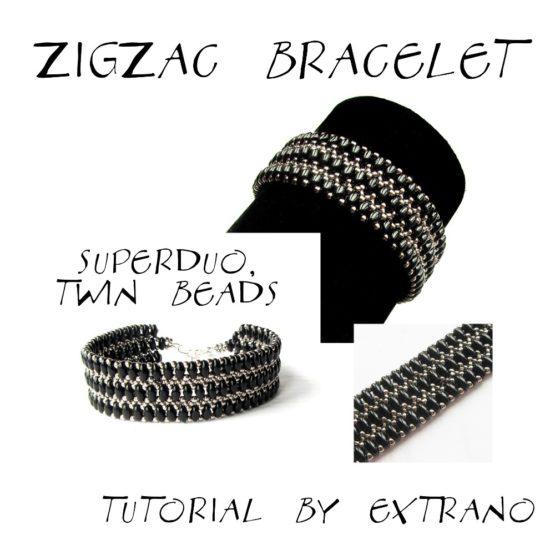 Instrukcja - Bransoleta - ZIG ZAG