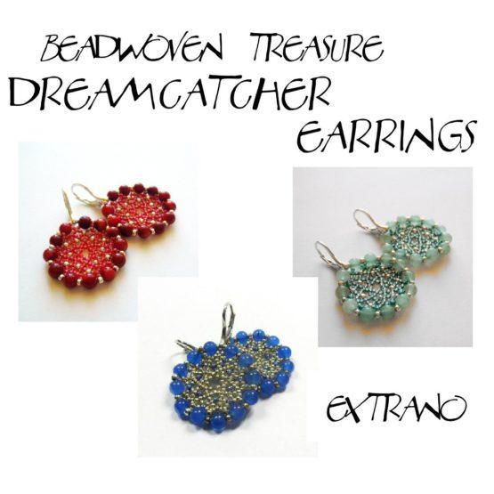 Instrukcja - Kolczyki - Dreamcatcher Earrings