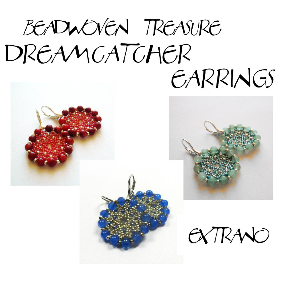 Instrukcja - Kolczyki - Dreamcatcher Earrings