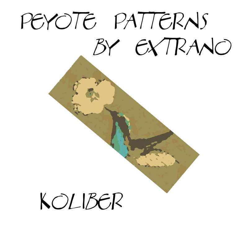 Wzór peyote - Bransoleta - KOLIBER