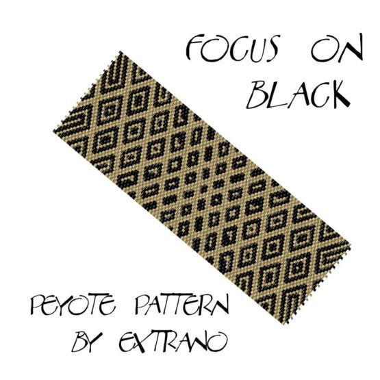 Focus on black