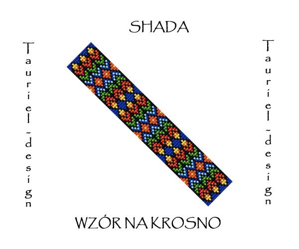 Wzór na krosno - Bransoleta - Shada