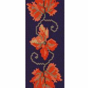 Wzór peyote - Bransoleta - Jesień
