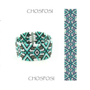 Wzór peyote - Bransoleta - Chosposi