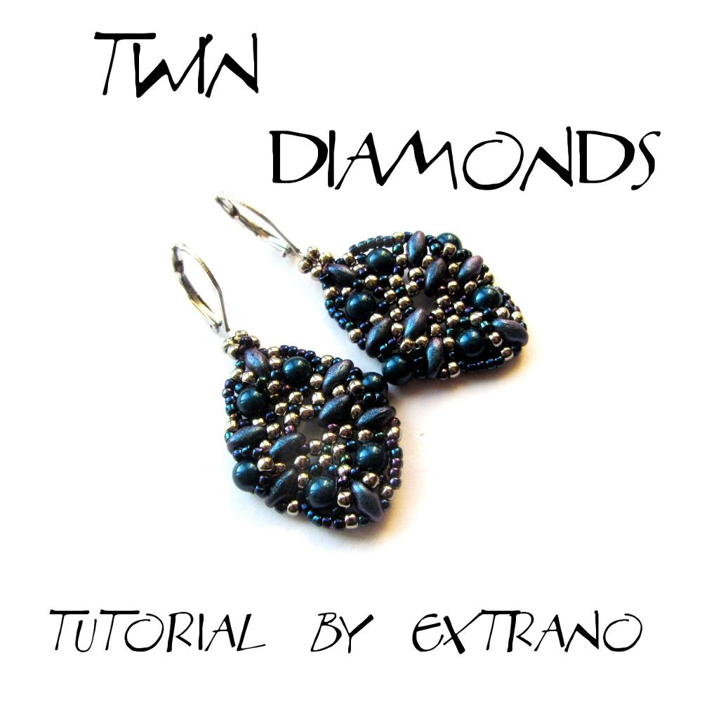 Instrukcja - Kolczyki - TWIN DIAMONDS
