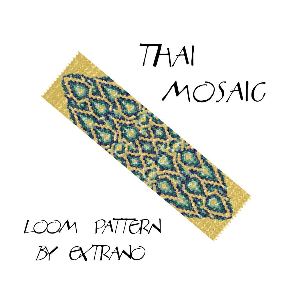 Wzór na krosno - Thai Mosaic